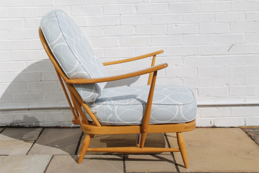 Johanna pinder wilson 183 ercol windsor easy chair model 203